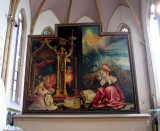 Famous for its altarpieces (retables)