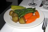 plus a plate each of veggies