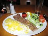 Grilled lamb at Sadaf (Persian restaurant)