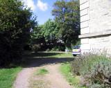 Towards back of villa