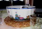 A Quimper bowl