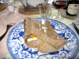 Galette, a specialty of Brittany