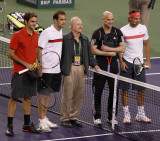 The Greatest with Roger, Pete, Rafa, and Andre