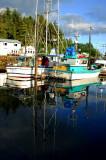 calmness on pier