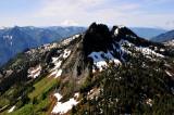 Bessemer Mountain and Mt Rainier