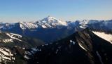 valley of Glacier Peak area