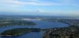 Seward Park and Lake Washington