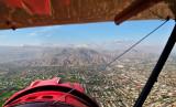 Waco over Palm Springs area