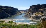 canyon by Shoshone Falls
