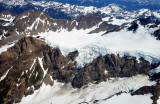 Glacier on Mt Olympus
