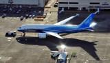 Sparkling 787 Dreamliner