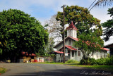 church on scenic drive - Old Mamalahoa Highway