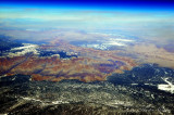 Grand Canyon at 40000 feet