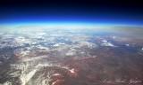 High over Southern Utah