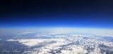High over Sierra Nevada