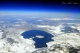 Mono Lake at 43000 feet