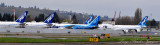 Boeing Aircraft Company New Tails