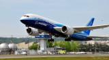 787 Dreamliner on flight test