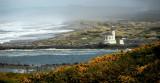 Bandon Lighthouse and beach