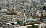 Space Needle and Seattle