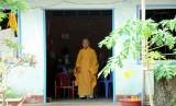 monk in grandma's village