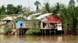home along the Mekong River