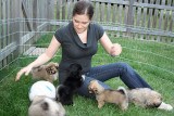 katy & Pups 9/08