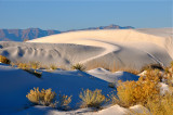 White Sands. New Mexico.
