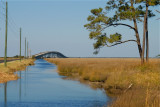 Bridge to Cedar Island, NC