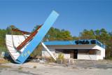 Deserted Gas Station, Cedar Island, NC
