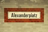 Alexanderplatz - Sign in the U-Bahn