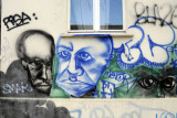 Grafitti in the Mitte Section of Berlin