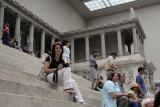 Sam on the Steps of the Pergamon Altar