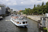 Sightseeing Boats on the River Spree