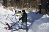 My little snowblower was outclassed - Thursday 11:20 am
