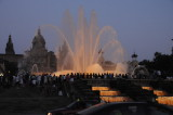 Font Màgica, the Fountain in Front of the National Art Museum