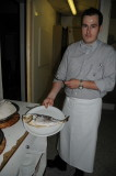 The Chef Showing His Creation