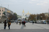 Looking toward St.  Mikhayil's from St. Sophia