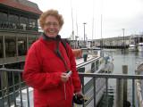 Kate Regan visiting Aquatic Park that weekend
