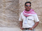 Sami Nawafleh, archaeologist and our guide