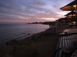 Beach at hotel in Sharm Al-Sheikh (where Mubarek fled)
