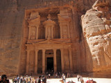 The Treasury, or Al-Khaznah - wider shot