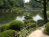 Takuei-ike at Shukkei-en