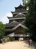 Below the tenshu of Hiroshima-jō