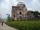 A-Bomb Dome and riverside path
