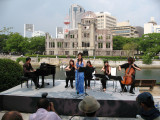 Opera performance in the Peace Memorial Park