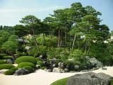 Stone pagoda in the Dry Landscape Garden