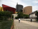 Kokura's new Riverwalk complex