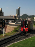 Miniature train car at the Railway History Museum