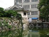 Restored turret on the Higo-bori moat